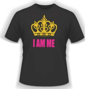 I Am Me T-Shirt Black